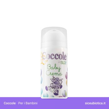 Coccole Sice Eubiotica Baby Crema corpo per bambini, idonea per la pelle secca