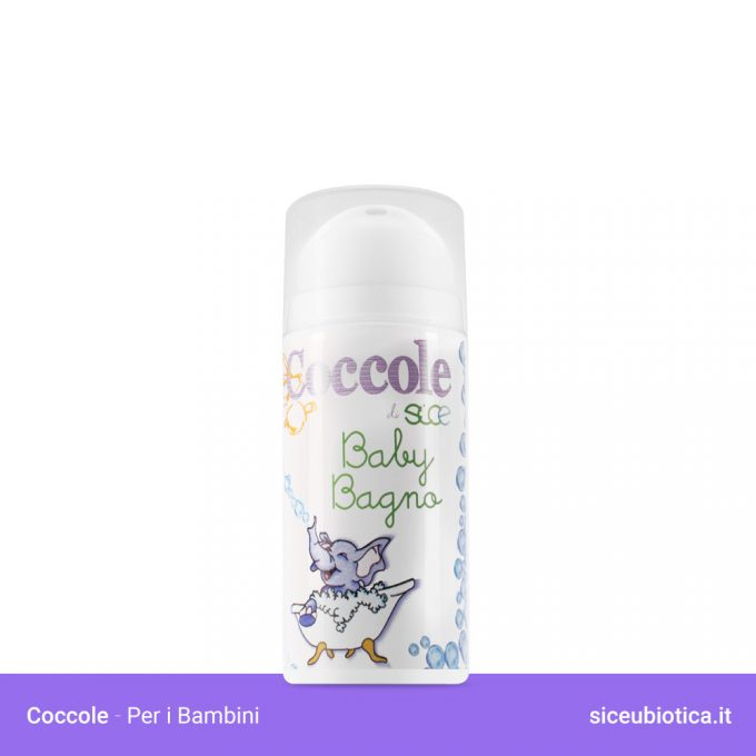Coccole Sice Eubiotica Baby Bagno per bambini, bagnoschiuma