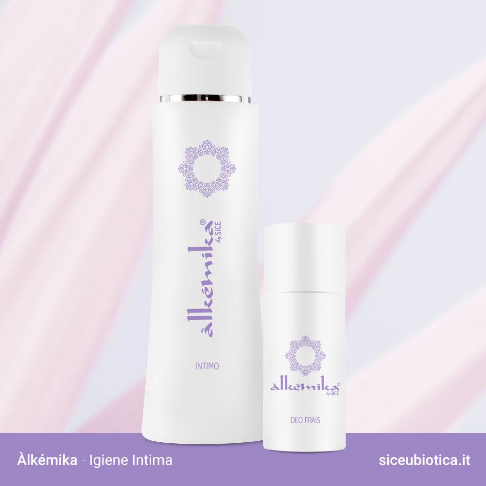 Linea Àlkémika Sice Eubiotica, intimo e deodorante