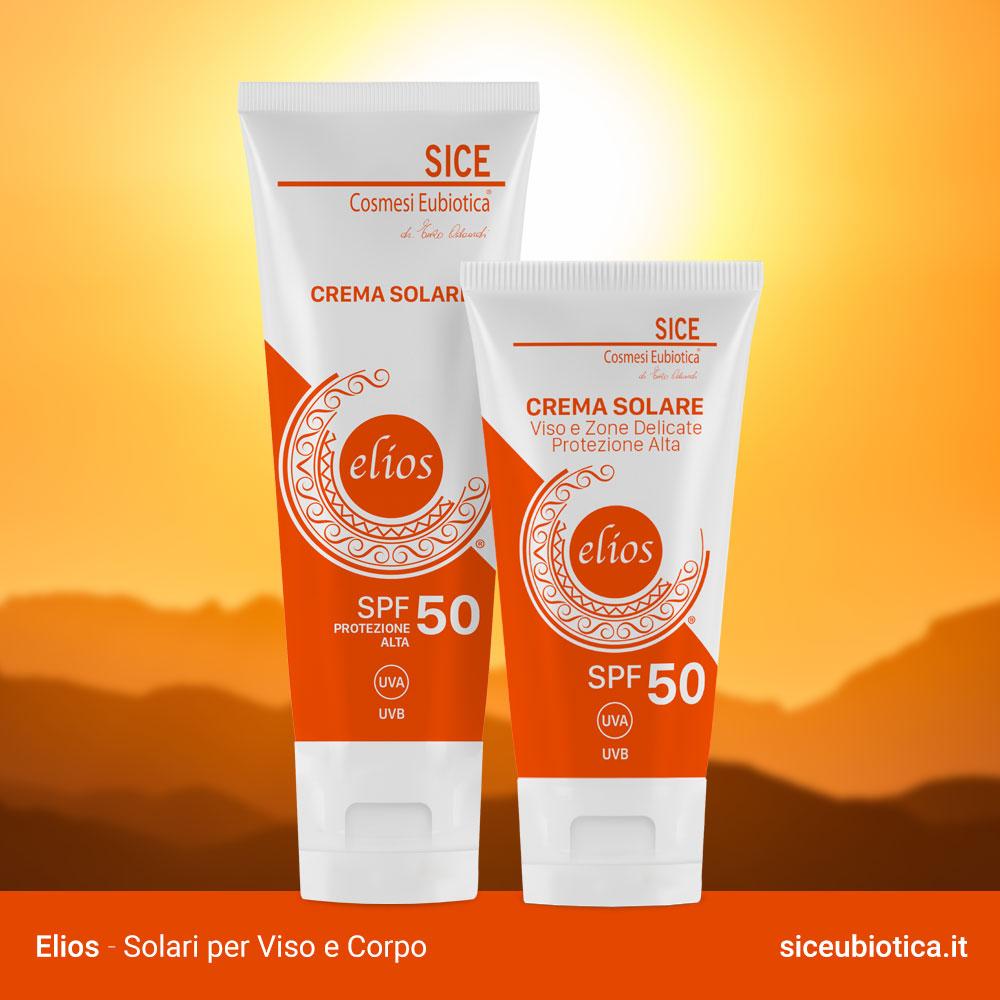Elios Solari viso e corpo Sice Eubiotica Protezione Alta