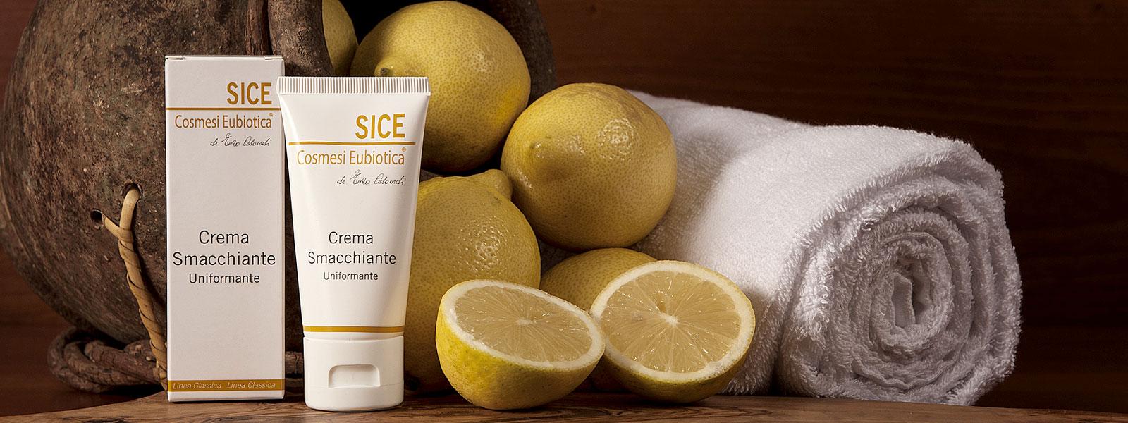 Crema Smacchiante Uniformante Sice Eubiotica, combatte le macchie sulla pelle