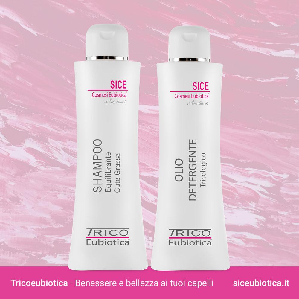 Tricoeubiotica Sice Eubiotica per i capelli, ideale per la cute grassa