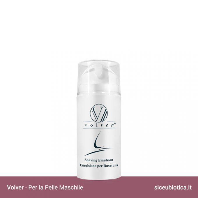 Linea Volver Sice Eubiotica per la pelle maschile, Emulsione per rasatura