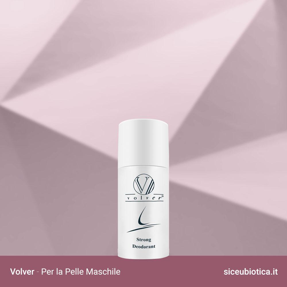 Linea Volver Sice Eubiotica per la pelle maschile, Strong Deodorant