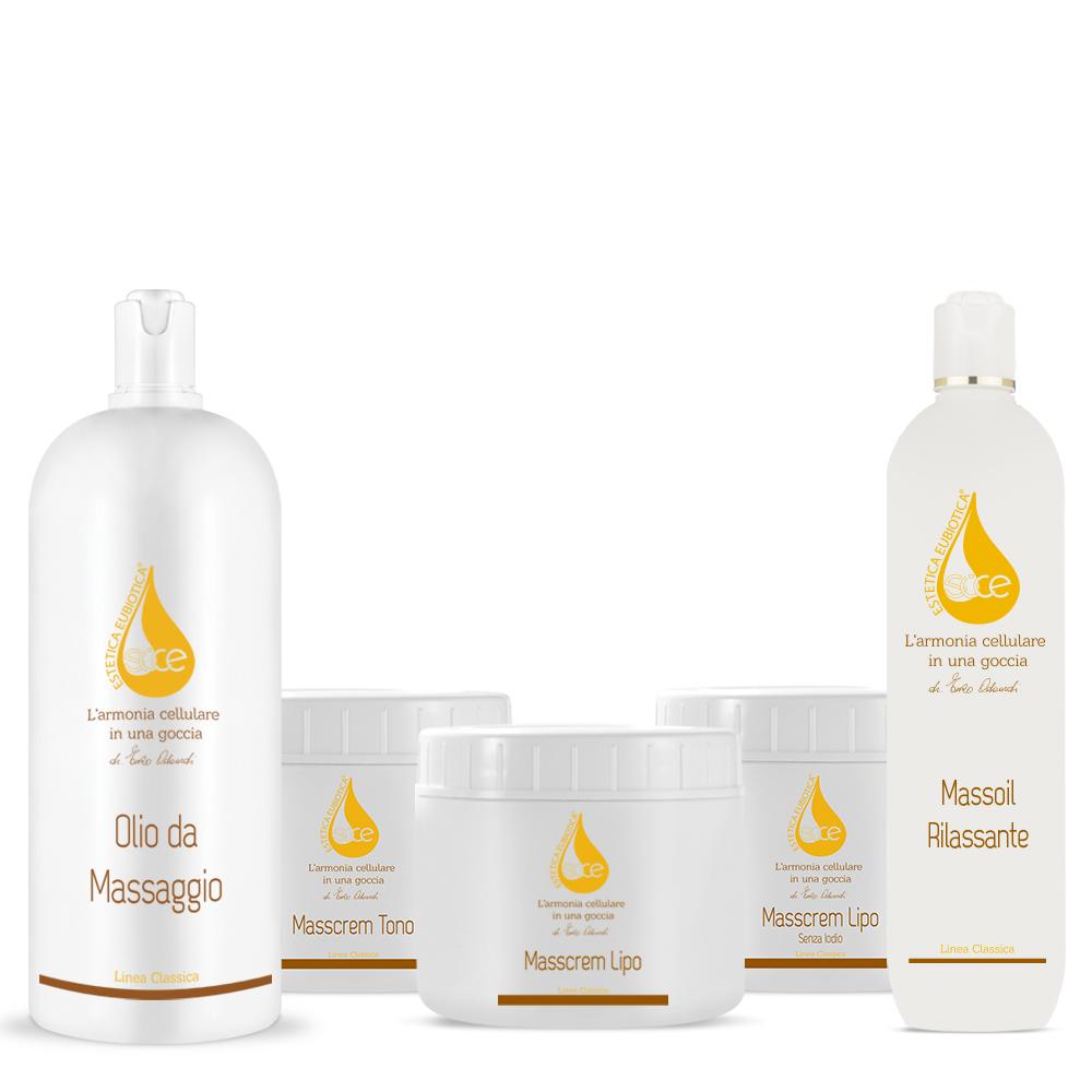 Prodotti da Massaggio professionali Sice Eubiotica
